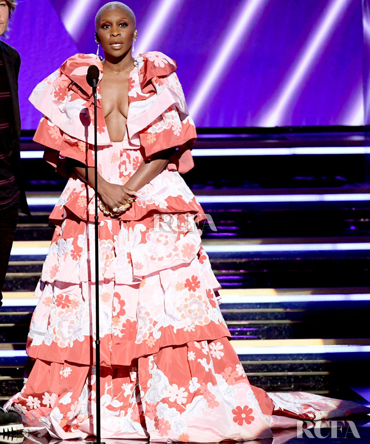 Cynthia Erivo In Valentino Haute Couture - 2020 Grammy Awards