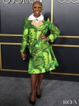 Cynthia Erivo Wore Louis Vuitton To The Oscars Nominees Luncheon