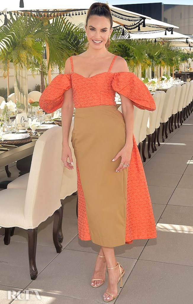 Elizabeth Chambers Wore Rosie Assoulin To The Academy Museum of Motion Pictures Luminaries Luncheon