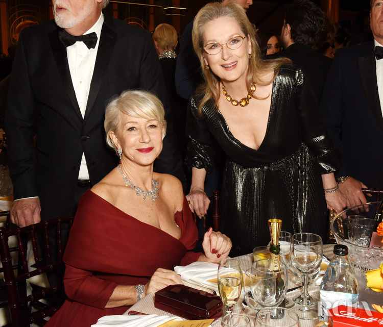 Meryl Streep In Christian Dior Haute Couture - 2020 Golden Globe Awards