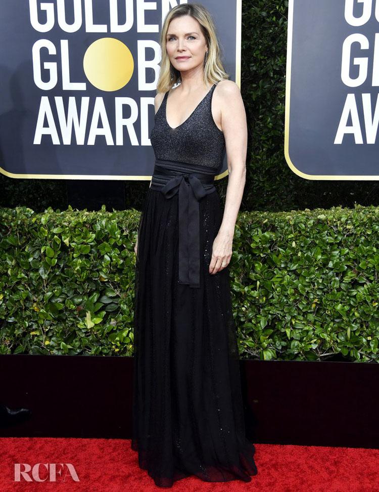 Michelle Pfeiffer golden globes