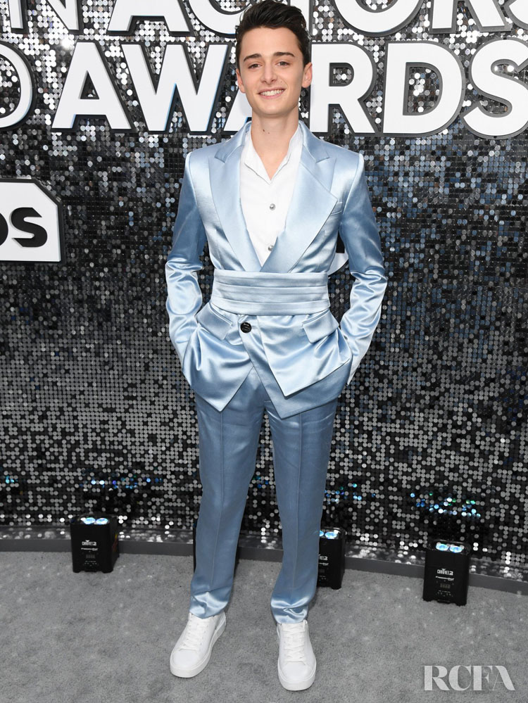 Noah Schnapp In Balmain - 2020 SAG Awards
