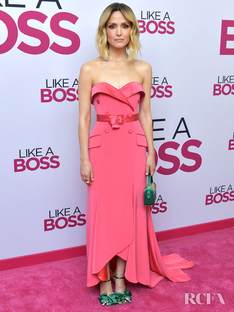 Rose Byrne Wore Alexis Mabille Haute Couture To The 'Like A Boss' LA Premiere