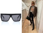 Rosie Huntington-Whiteley's Celine Flat-Top Shades