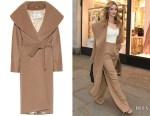 Rosie Huntington-Whiteley's Max Mara Coat