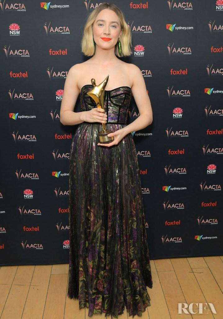 Saoirse Ronan In Ralph & Russo  AACTA Awards