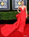 Scarlett Johansson In Vera Wang Collection - 2020 Golden Globe Awards