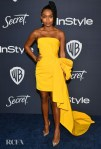 Yara Shahidi Wore Carolina Herrera To The InStyle Golden Globes After Party