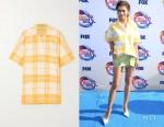Zendaya Coleman's Jacquemus Torchon Shirt