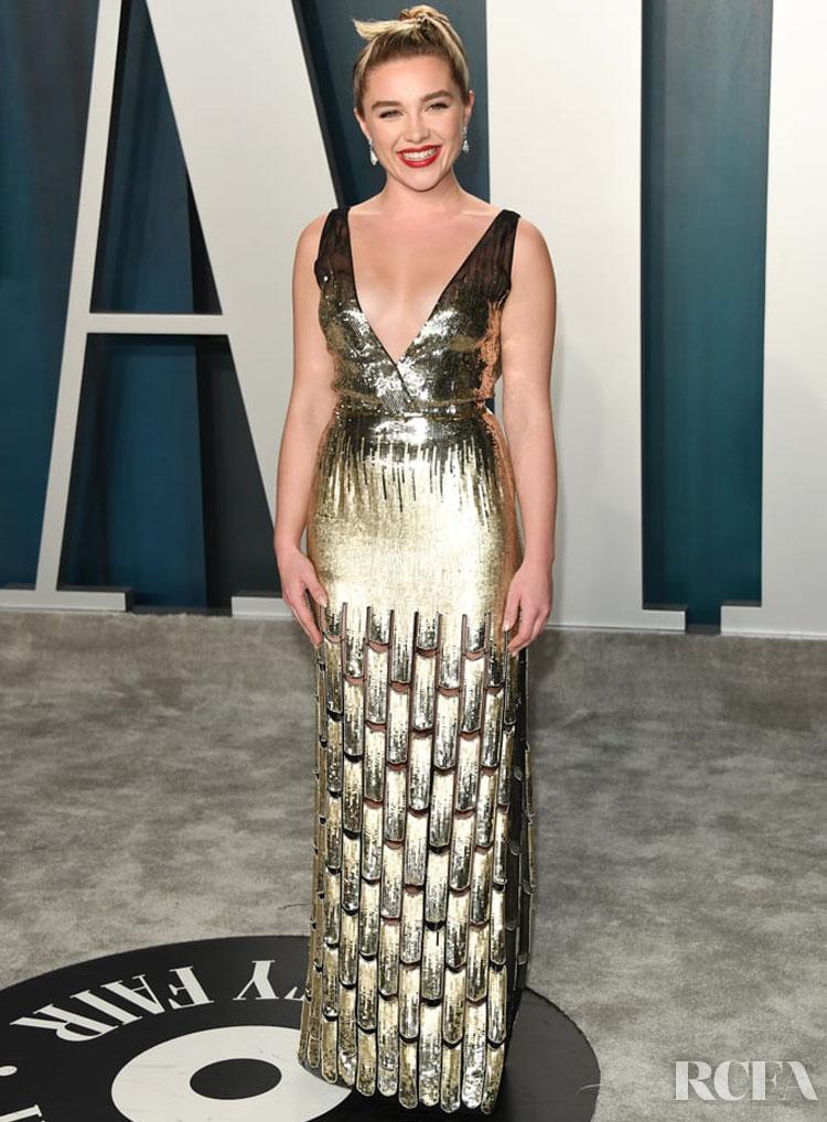 FLORENCE PUGH  Louis Vuitton 2020 Vanity Fair Oscar Party