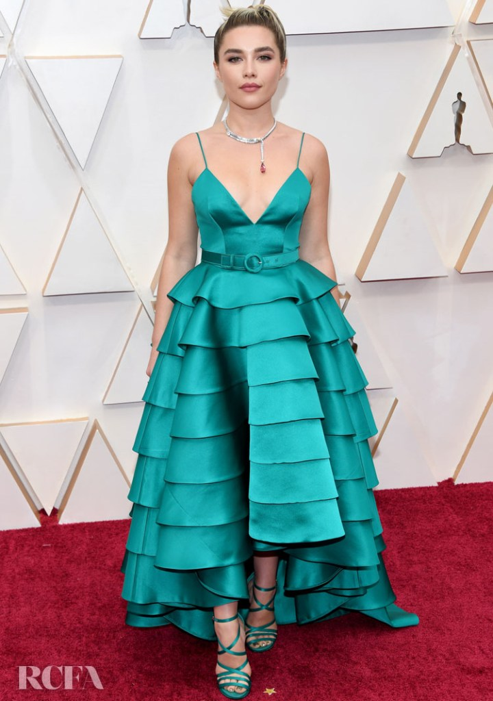 Florence Pugh In Louis Vuitton - 2020 Oscars