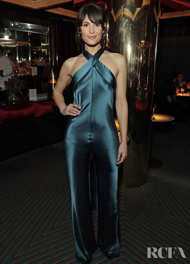 Gemma Arterton Wore Galvan To The Platform Presents Poetry Gala 2020 After Party
