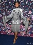 Janelle Monáe Wore Jean Paul Gaultier Haute Couture To The Harper's Bazaar Exhibition