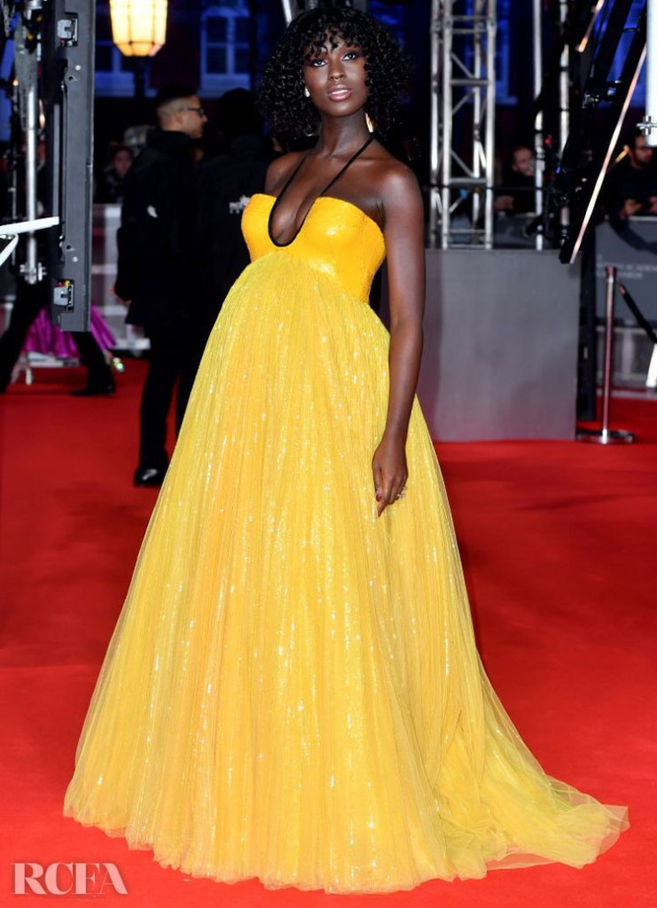 Jodie Turner-Smith In Gucci - 2020 BAFTAs