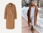 Kristin Cavallari's Max Mara Teddy Icon Coat