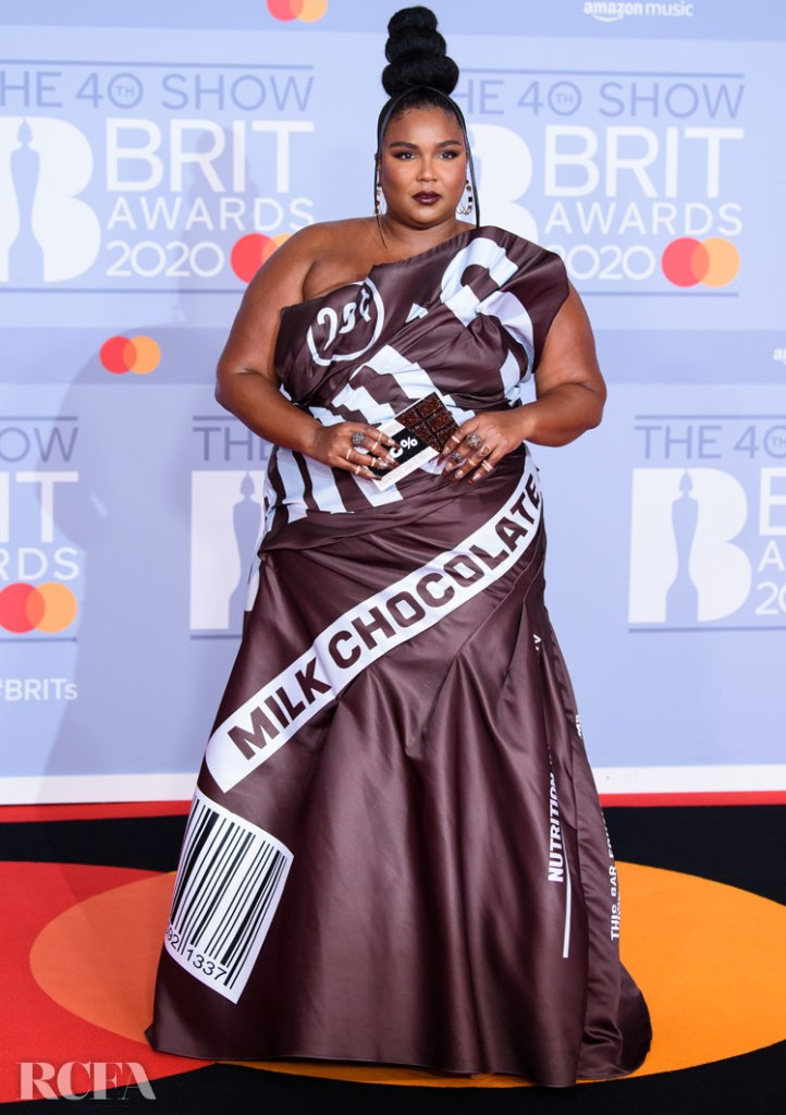 Lizzo In Moschino - The BRIT Awards 2020
