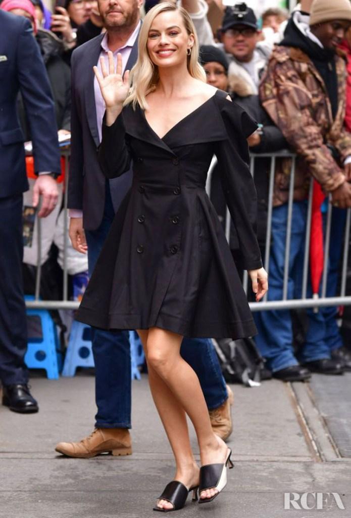 Margot Robbie Rocks Five Looks In One Day Promoting 'Birds of Prey'