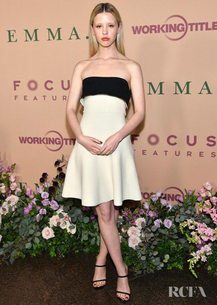 Mia Goth Wore Proenza Schouler To The 'Emma' LA Premiere