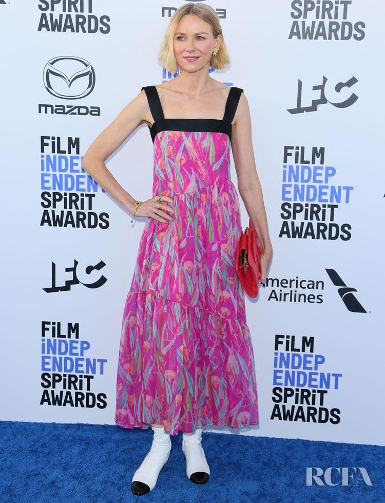 Naomi Watts In Chanel - 2020 Film Independent Spirit Awards