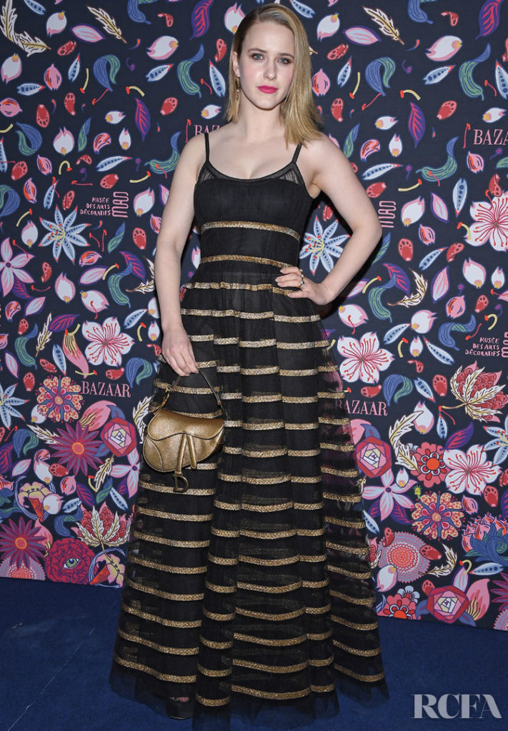 Rachel Brosnahan Christian Dior @ The Harper's Bazaar Exhibition