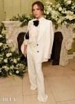 Victoria Beckham Wore Victoria Beckham To The British Vogue BAFTA After Party