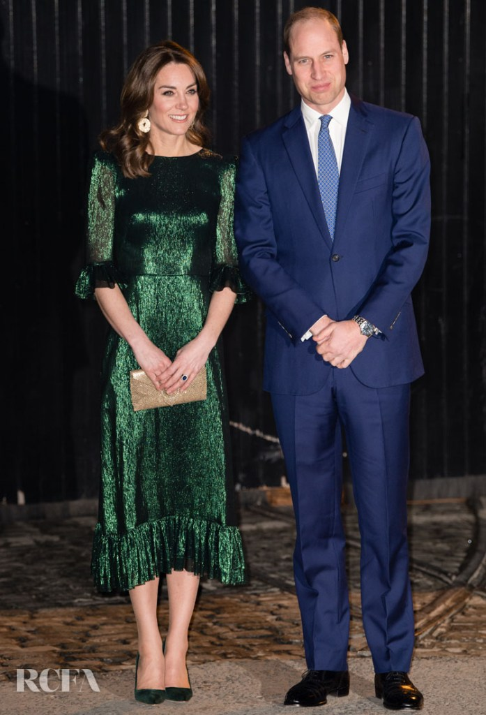 Catherine, Duchess of Cambridge Wore The Vampire's Wife To The Guinness Storehouse's Gravity Bar