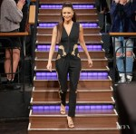 Thandie Newton Wore Dolce & Gabbana On 'The Late Late Show with James Corden'
