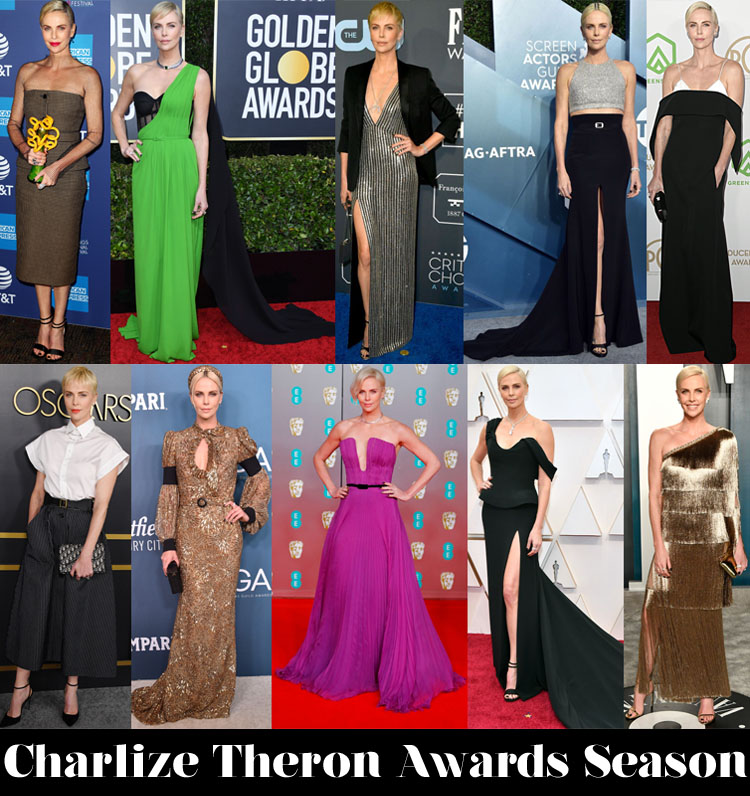 Which Was Your Favourite Charlize Theron Awards Season Look