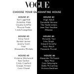 Choose Your British Vogue Quarantine House