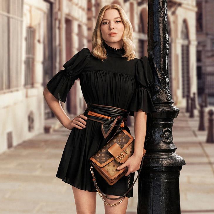 Léa Seydoux In Louis Vuitton's New Accessories Campaign