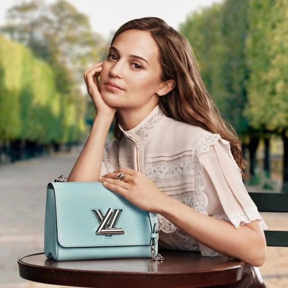 Alicia Vikander In Louis Vuitton's New Accessories Campaign