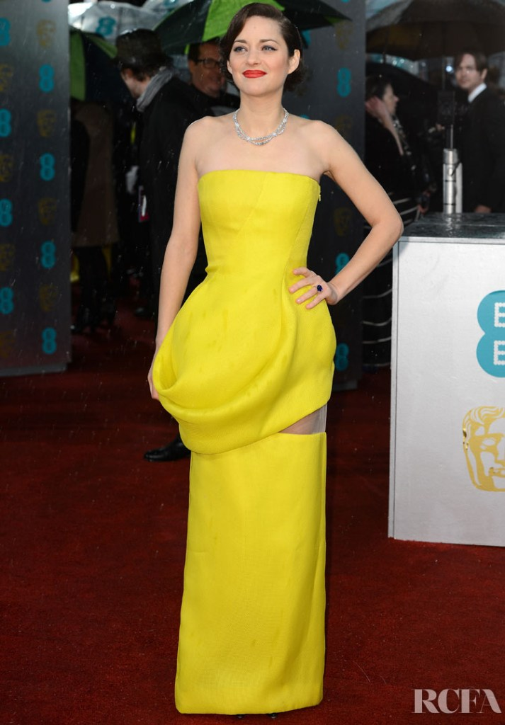 Marion Cotillard In Christian Dior Couture – 2013 BAFTA Awards