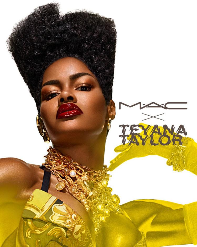 Teyana Taylor For MAC Cosmetics