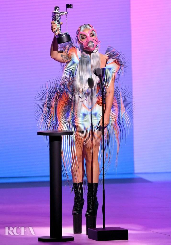 Lady Gaga  Iris van Herpen Haute Couture 2020 VMAs