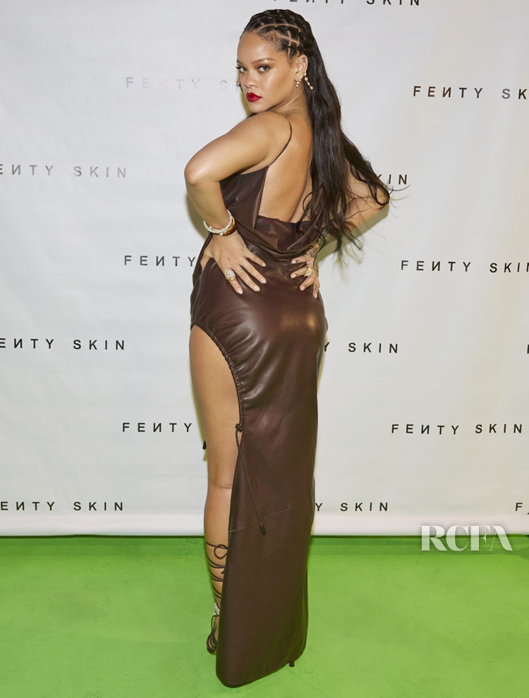 Rihanna Wore Fenty To The Virtual Pre-Launch Party For FENTY SKIN