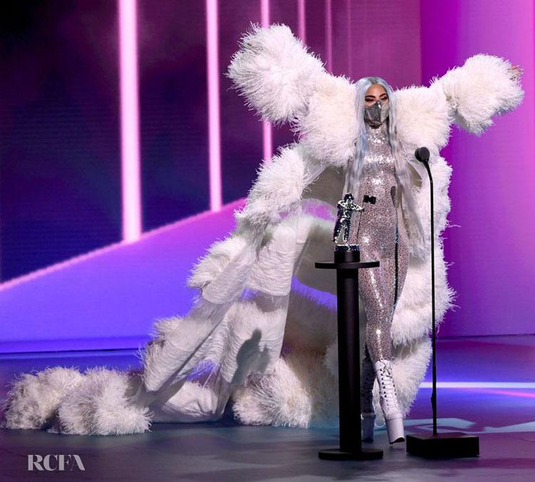 Lady Gaga Valentino Haute Couture 2020 VMAs