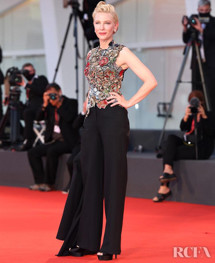 Cate Blanchett Wore Alexander McQueen To The 'Amants' Venice Film Festival Premiere