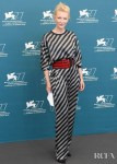 Cate Blanchett Wore Giorgio Armani To The 2020 Venice Film Festival Jury Photocall