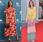 Gia Coppola Wore Gucci To The 'Mainstream' Venice Film Festival Photocall & Premiere