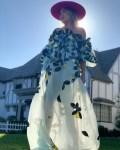 Kate Hudson Is Instaglam In Oscar de la Renta