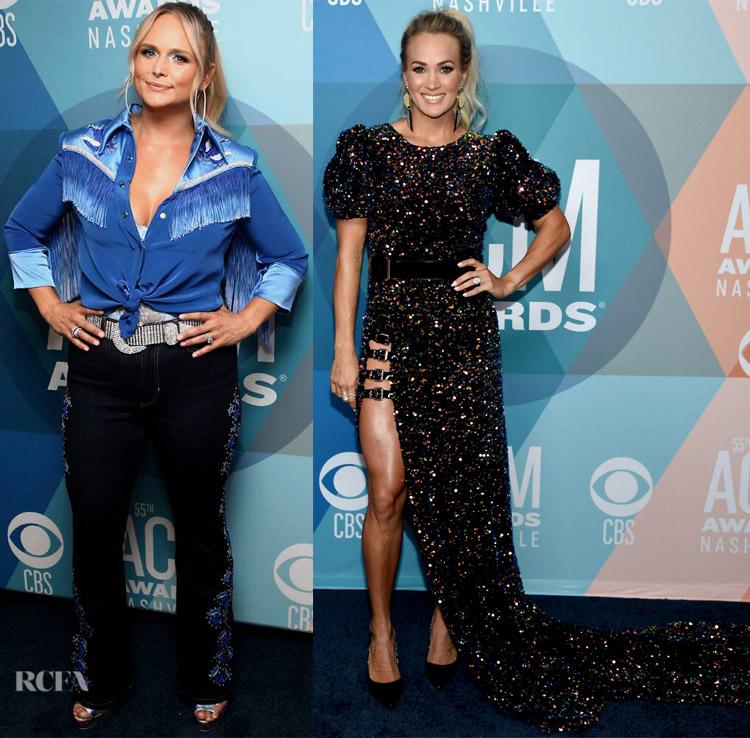 Miranda Lambert and Carrie Underwood At The 2020 ACM Awards