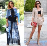 Nieves Alvarez Serves Up Three Alberta Ferretti Looks On Her Return To Venice Film Festival 2020