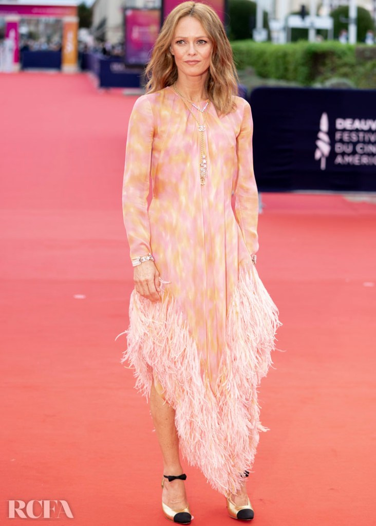 Vanessa Paradis Wore Chanel To The Deauville American Film Festival Opening Ceremony