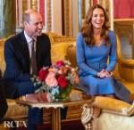 Catherine, Duchess of Cambridge Wore Emilia Wickstead For The Visit Of The President of Ukraine