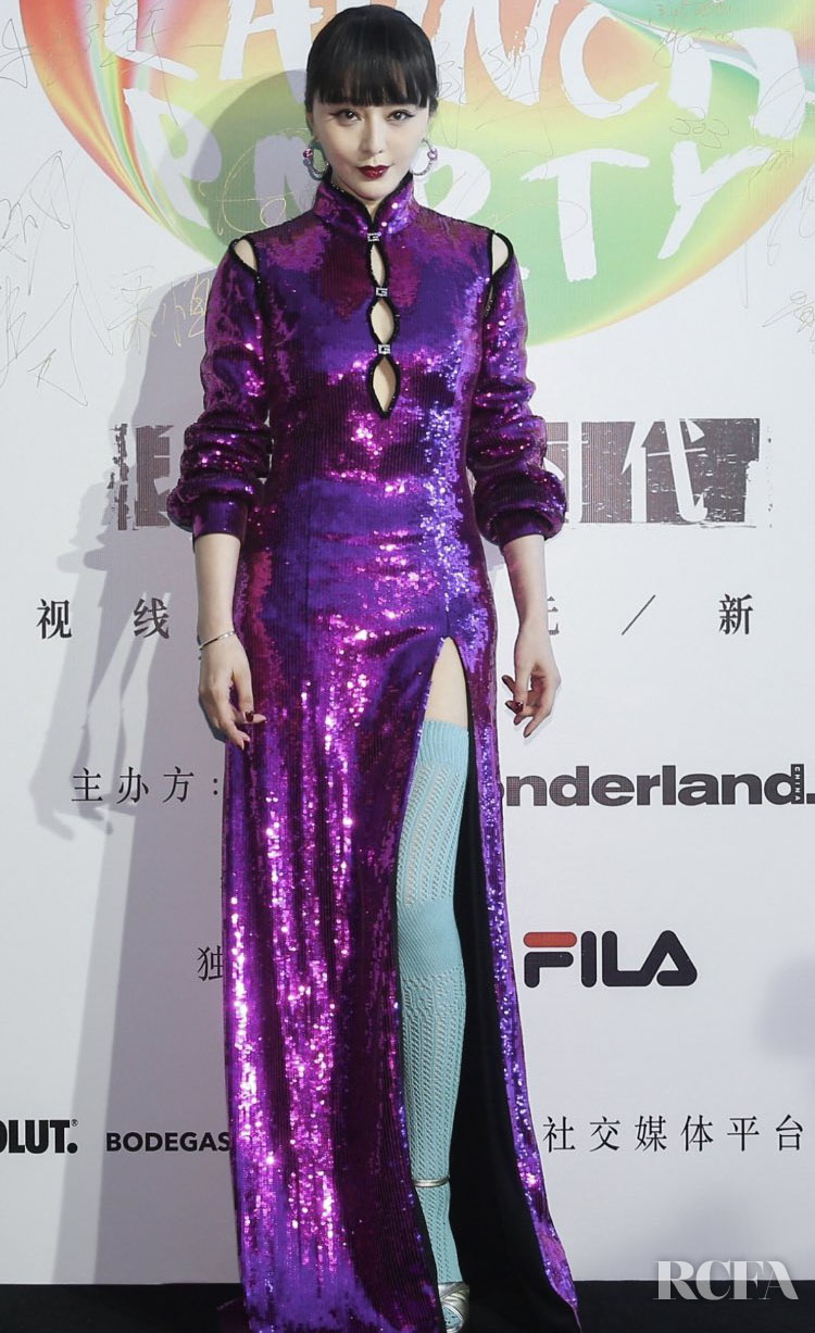 Fan Bingbing 范冰冰 Wore Gucci & Ralph & Russo To The Wonderland Magazine & Guerlain Events