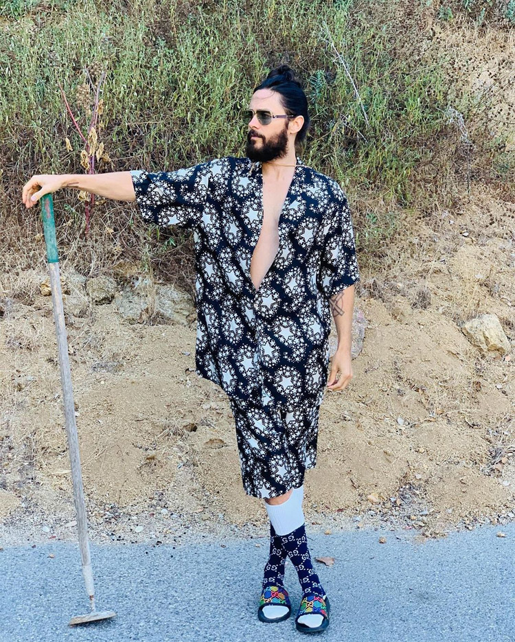 Jared Leto Is A Star In Gucci
