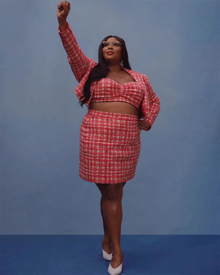 Lizzo Wore Christian Siriano For A Voting Initiative