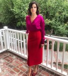Neve Campbell Wore Cong Tri For The 'Clouds' Press Day