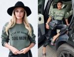 Olivia Culpo's Lulusimon Studio Stay At Home Dog Mom Sweatshirt