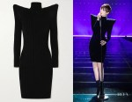 Chris Lee's Balenciaga Pagoda Turtleneck Dress